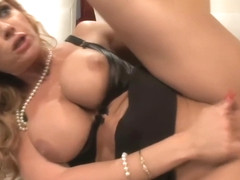 Wicked step mother Janet Mason loves fast cock