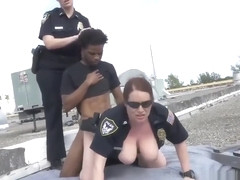 Amateur black girl sucks white guy We had to chase the mother fucker as