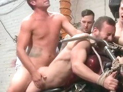 Muscle gay bound and facial