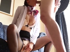 Stewardess With a Secret Second Job 1