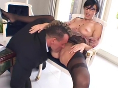 Eva Black ass fucked