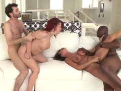 Ariella Ferrera, James Deen, Sarah Blake, Sean Michaels