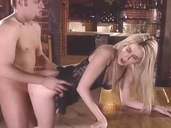 Blonde Princess Ciera Sage Climbs On A Cock For Some Anal