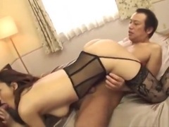 Adorable oriental Minako Uchida in amazing group sex performance