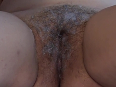 Lesbian shaves her girlfriend&#039_s fat pussy and licks hairy and shaved cunt. Fetish.