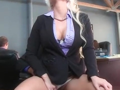 Big Round Tits Girl (Holly Heart) Realy Like To Bang In Office movie-26