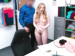 Teen employee pussy rammed by LP officer