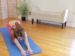 Cfnm yoga teen jizz mouth