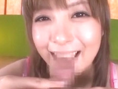 Crazy Japanese chick Hirono Imai in Best Blowjob, Couple JAV scene