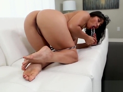 Mia Li Foot Fetish Pussy Toying