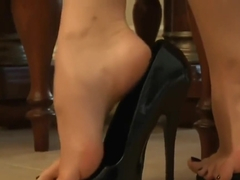 One of New York City's Finest The Sexy Feet And Toes of Kayla Jane Danger