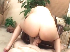 Katie Summers hungrily gobbles down on this cock, making it nice and hard