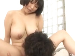 Horny Japanese model Yuuna Hoshisaki in Exotic Big Tits, Blowjob JAV movie