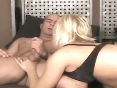 Dirty Blonde Enjoys Having A Cock Down Her Throat