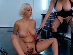 Lesbian sex video featuring Alison Star and Colette W