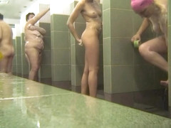 Hot Russian Shower Room Voyeur Video  32