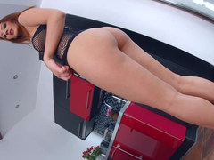 Aylin Diamond enjoys a full load of hot jizz inside her on All internal