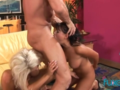 Eva Angelina and Tiffani Digivanni trio