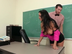 Vector calculus class with Mariah Milano's big juicy tits