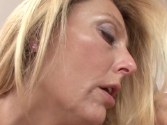 Brenda James finger fucks Alyssa Reeces moist pussy