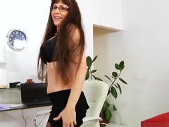 Big tits Step-Mama Alexandra Silk Fucking Good Teen Son