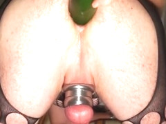 Filling my horny hole
