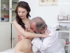 Curvaceous russian vixen screwed by nasty doctor