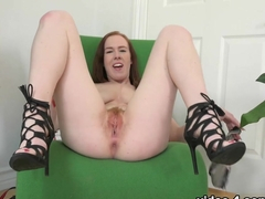 Incredible pornstar Kiera Wilde in Hottest Solo Girl, Hairy xxx video