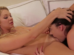 Horny pornstars Jessie Andrews, Sovereign Syre in Exotic Big Ass, Cunnilingus adult scene