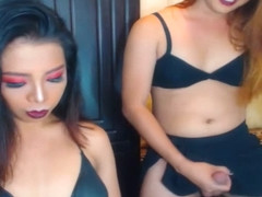 Sexy Shemales Having Nice Hot Webcam Show