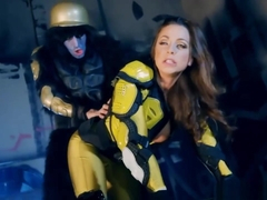 Power Rangers Xxx Parody With Pornstar Abigail Mac