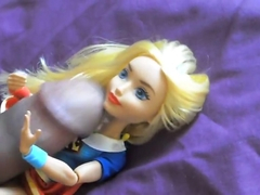 Supergirl Doll DC superhero girls cum tribute