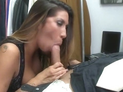 Hot brunette MILF Kayla Carrera got her asshole fucked