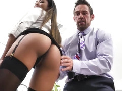 Nia Nacci Fucks Her Co-Worker - NaughtyOffice