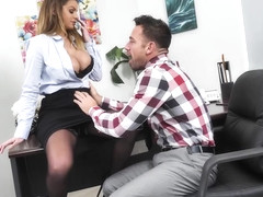 Brooklyn Chase Fucks Her Coworker  - NaughtyOffice