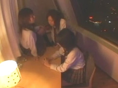 Exotic Japanese girl Yukimi Honoka, Riko Tachibana, Ryou Kaname in Incredible Cougar JAV clip