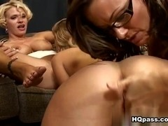 Brianna Ray, Kristen Cameron, Teagan in A closer look Video