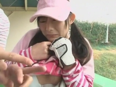 Amazing Japanese model Anri Kawai, Akari Minamino in Exotic Outdoor JAV clip