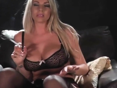 Danielle Maye custome smoking masturbation