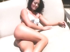 Horny pornstar Sandra Romain in fabulous facial, big butt adult video