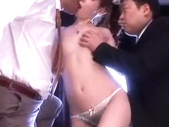 Amazing Japanese slut Kaede Fuyutsuki in Incredible Threesome, Cunnilingus JAV video