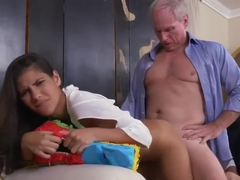 Teen eat old man cum Going South Of The Border