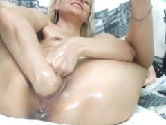 anal fist mast and with huge pussy fisting
