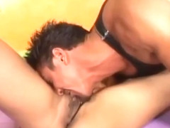 Beef curtain pussy asian with big ugly fake tits gets pounde