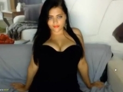 She asked me to turn on my webcam and then she showed me her huge tits
