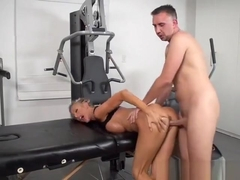 Slut Courtney Taylor Gets Demolished By The Masseur