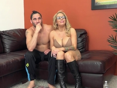 Best pornstars Alyssa Lynn, Damon Dice in Exotic Blonde, MILF sex clip