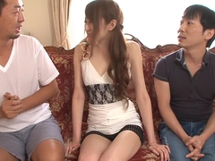 Hottest Japanese slut Mai Shirosaki in Fabulous JAV uncensored Group Sex scene