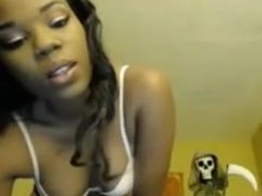 Hot Darksome Angel On Web Camera