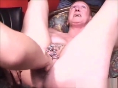 Ugly mature pierced fisted hard. Amateur